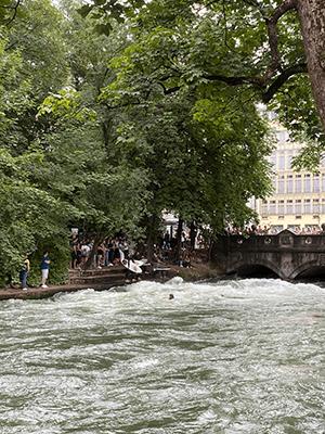 Munich surf