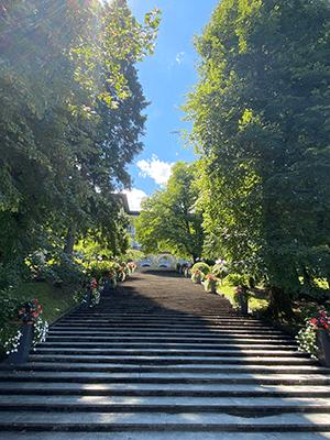 Villa bled escaliers