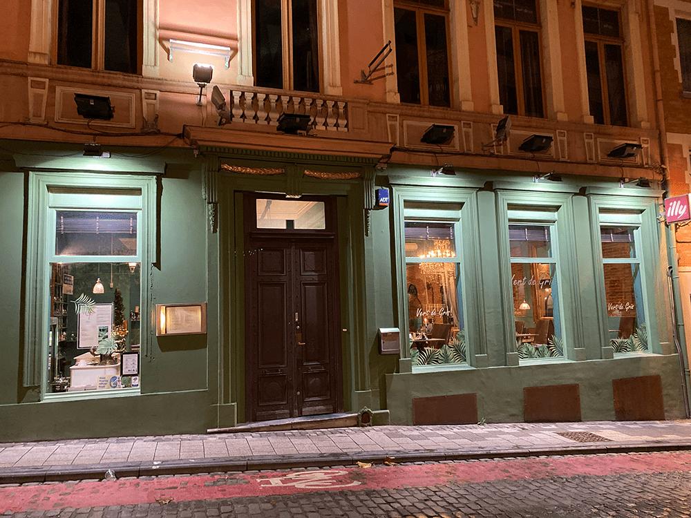 Restaurant Bruxelles Vert de Gris