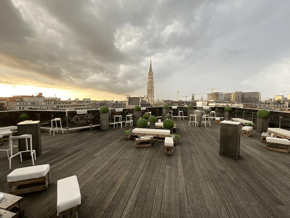 Warwick rooftop
