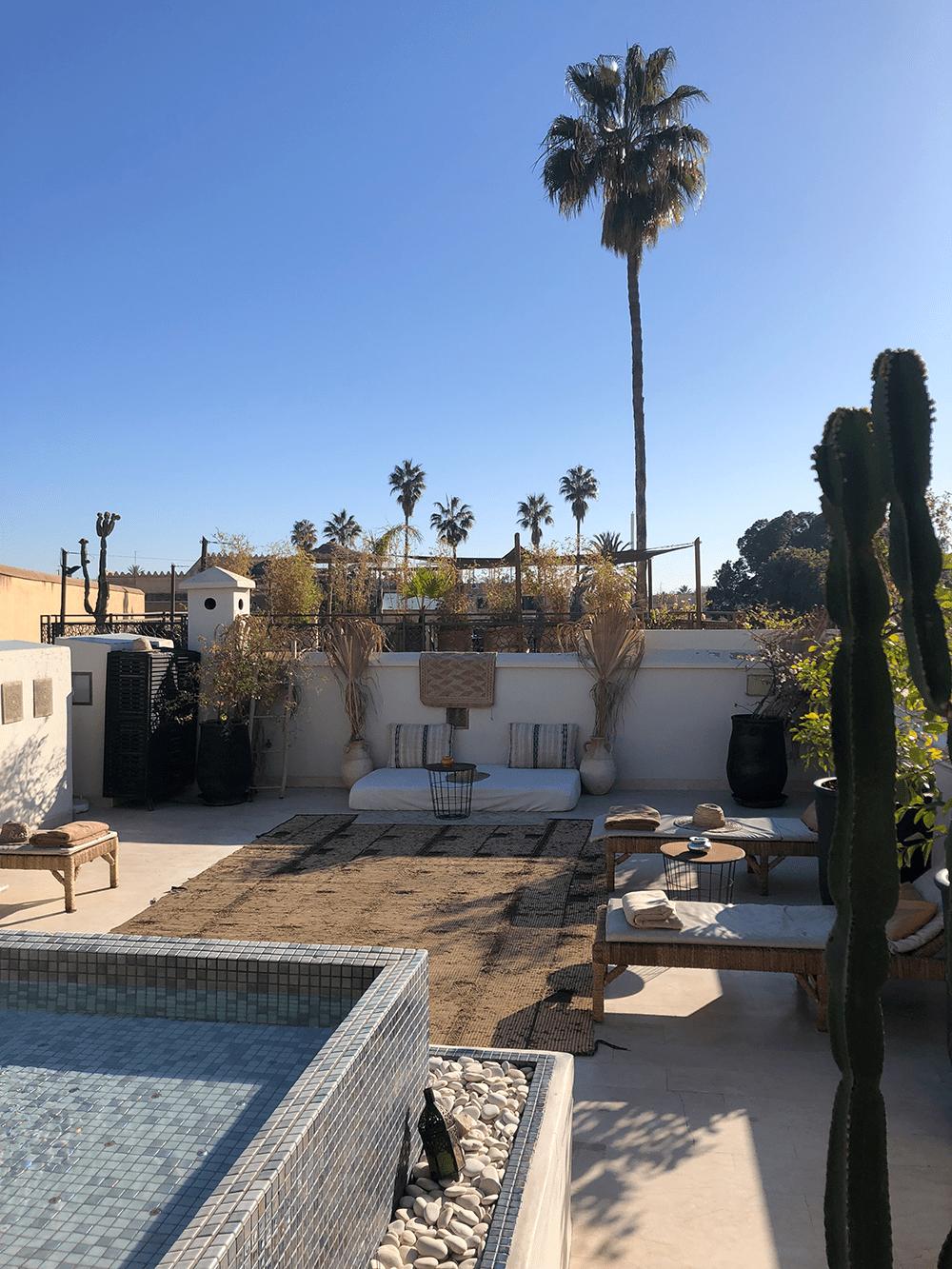 riad tahili terrasse
