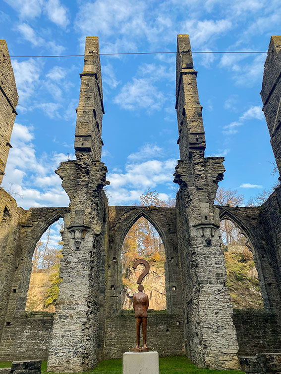 Visite de l'Abbaye de Villers la Ville