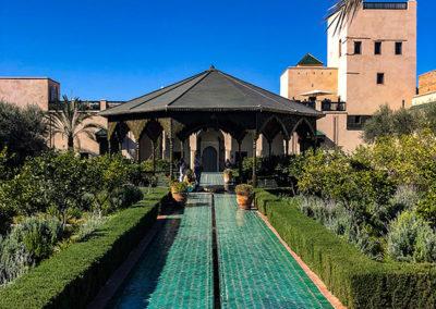 Le jardin secret dans la médina de Marrakech