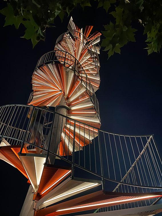 Escalier berblinger Turm