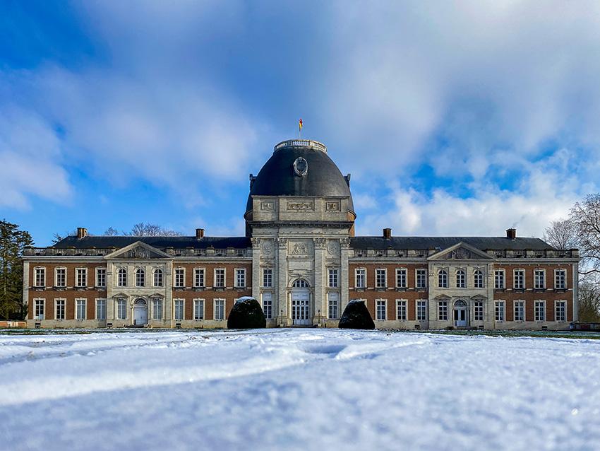 Balade de Chapeauvau au départ du Château d'Hélécine