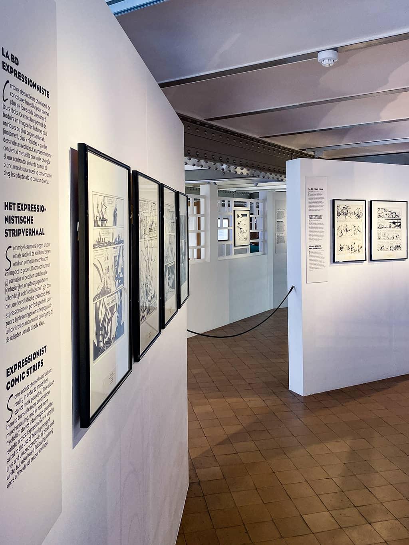 COMICS ART MUSEUM - musée de la BD Bruxelles