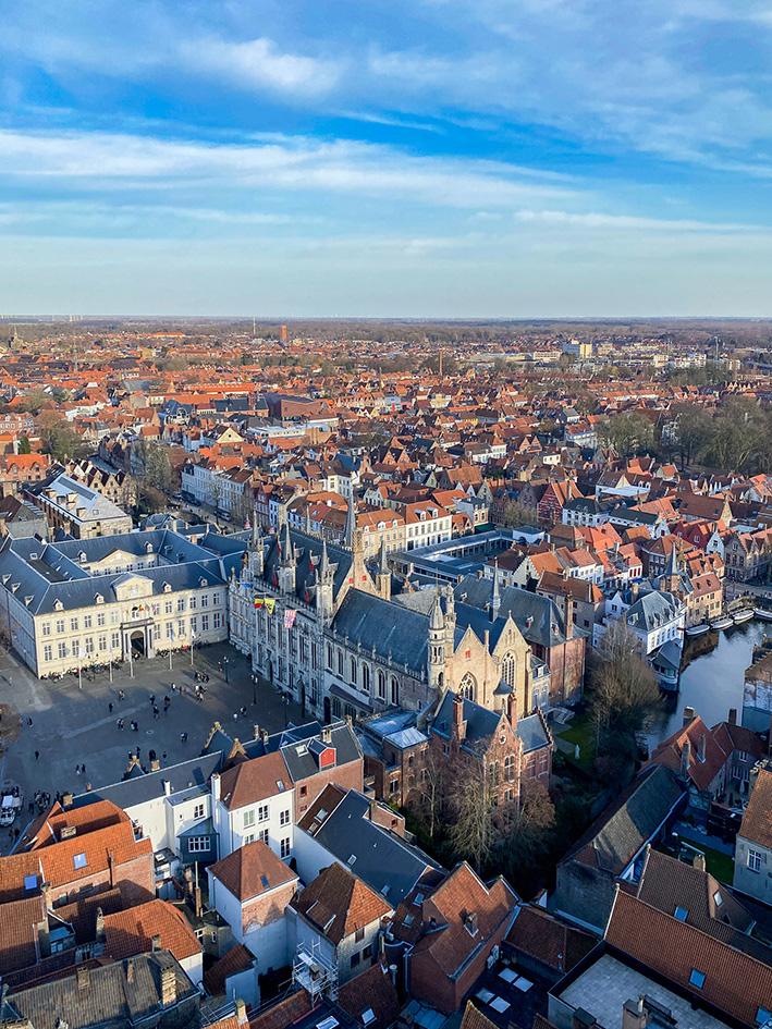 Visiter Bruges en amoureux