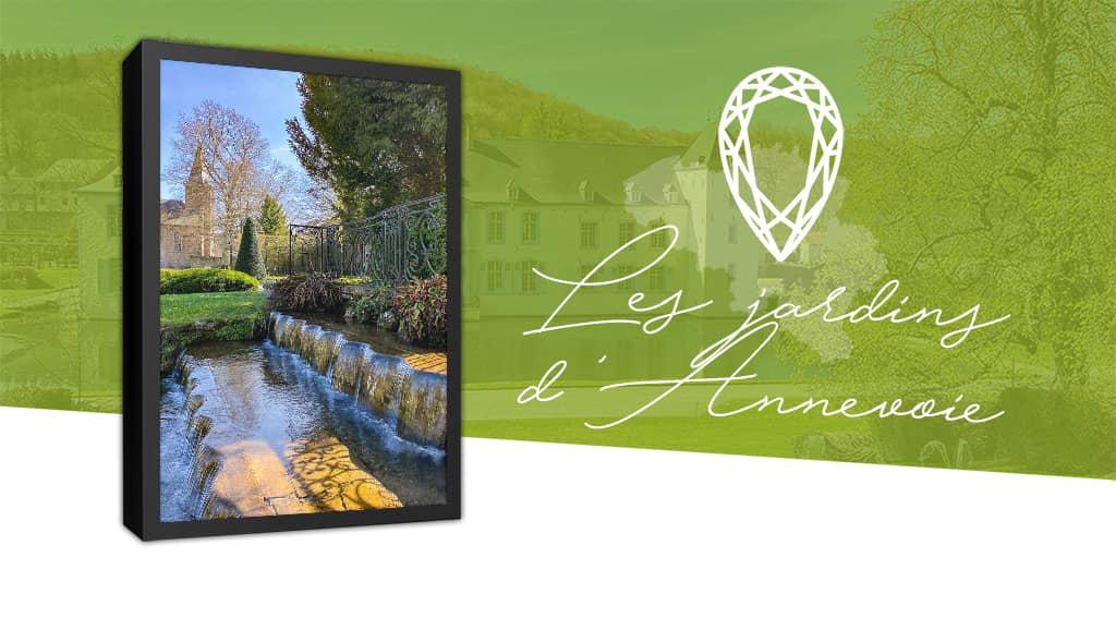 Les Jardins d'Annevoie, un parc romantique proche de Namur