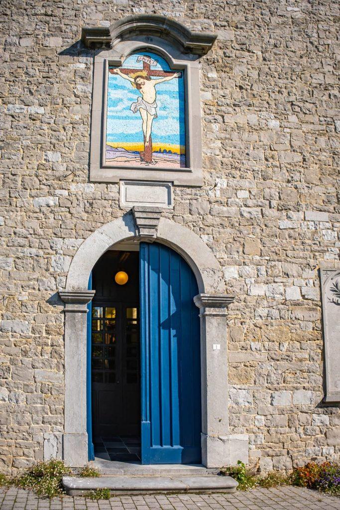L'église de Mozet